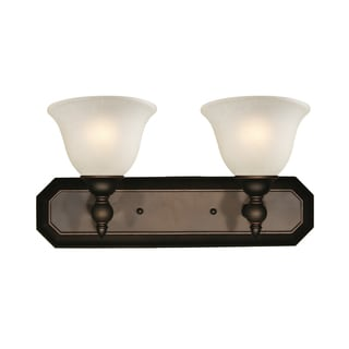 Z-Lite Bronze 2-light Vanity Light