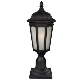 Z-Lite 1-light Black Outdoor Post Mount Light