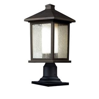 Z-Lite Oil-rubbed Bronze Outdoor Post Light