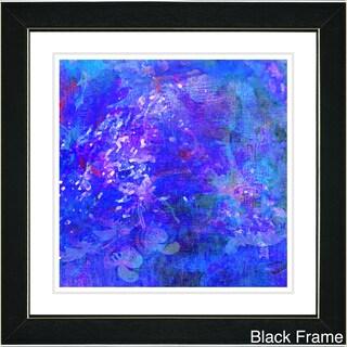Zhee Singer 'Blue Yonder' Framed Art Print (4 options available)