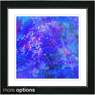 Zhee Singer 'Blue Yonder' Framed Art Print (4 options available)