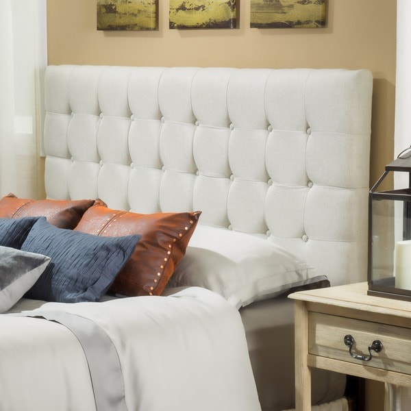 Austin Adjustable Full/ Queen Tufted Headboard by Christopher Knight Home