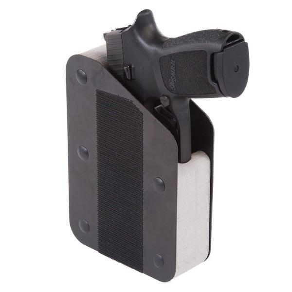 Benchmaster Weapon Rack Single (1) Pistol Velcro Hook Rack