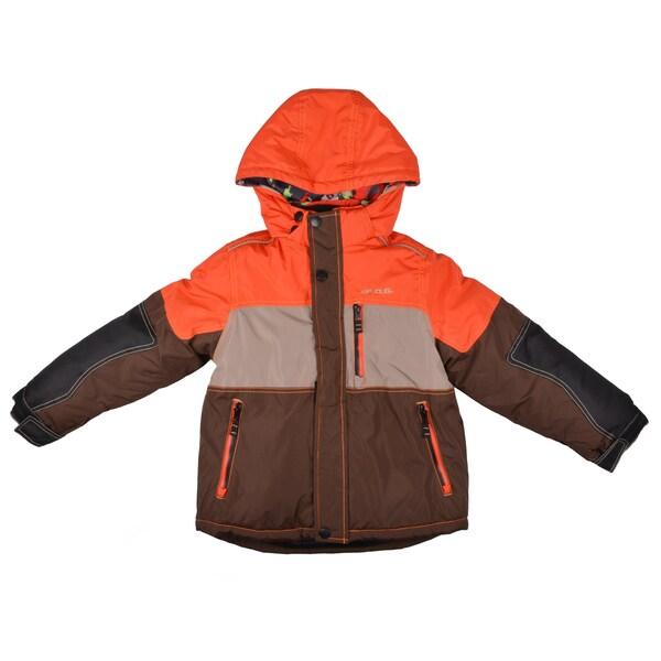 London Fog Boy's Hooded Removeable Liner Coat