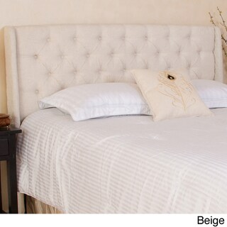 Perryman Adjustable Full/ Queen Tufted Fabric Headboard by Christopher Knight Home (2 options available)