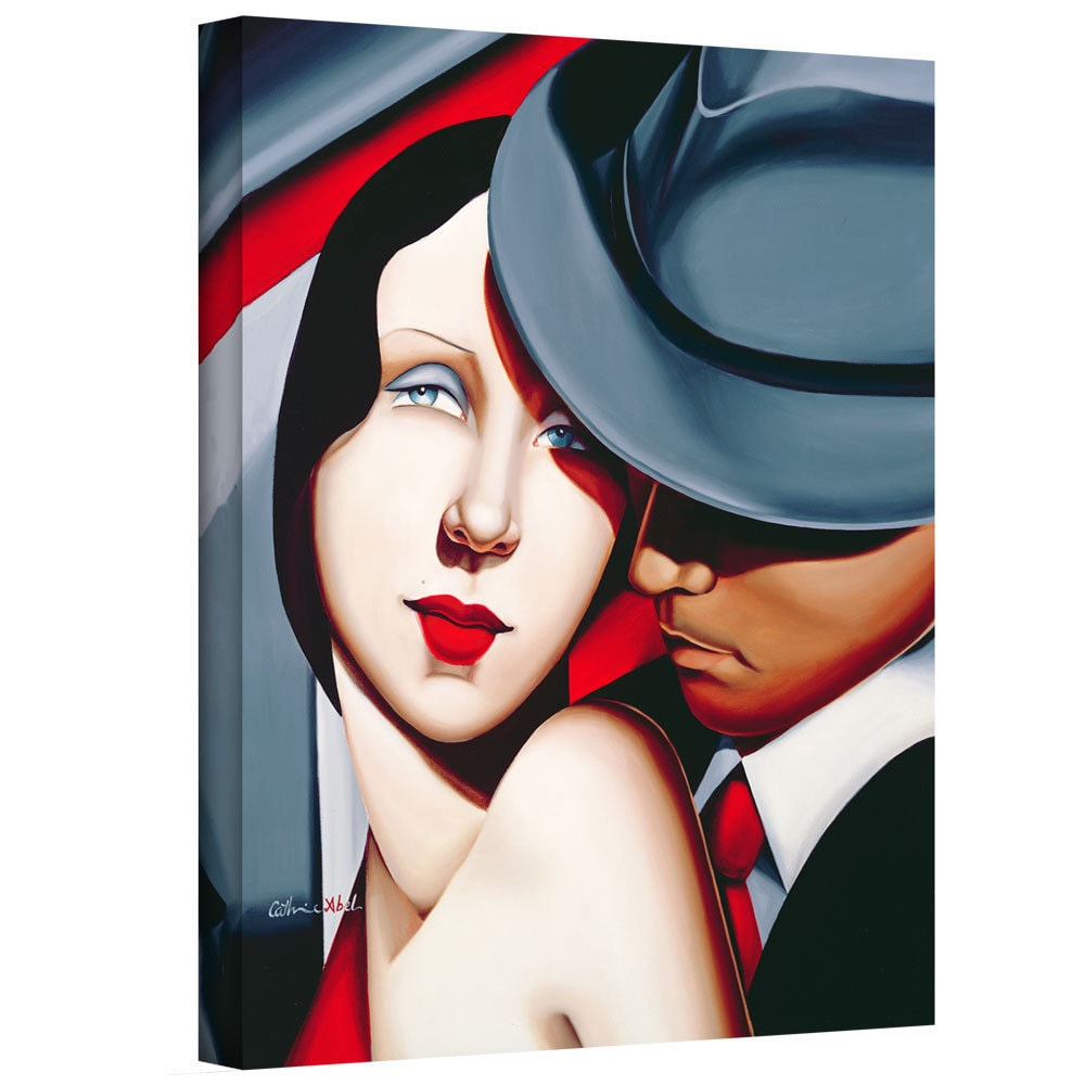 ArtWall Art Wall Catherine Abel 'Adam and Eve, Gangster S...