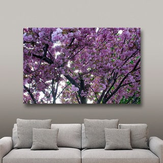 Art Wall Dan Wilson 'Spring Flowers' Gallery-Wrapped Canvas