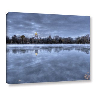 Art Wall Dan Wilson 'The Basilica- Notre Dame' Gallery-Wrapped Canvas
