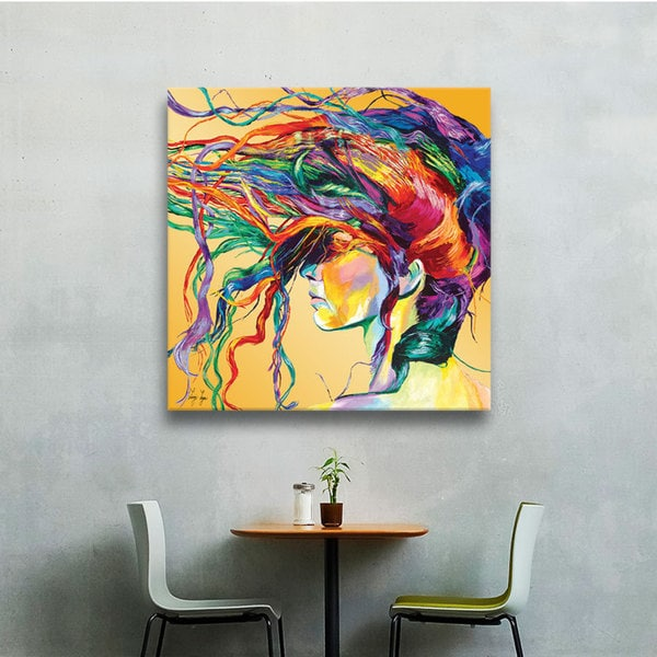 Art Wall Linzi Lynn 'Windswept' Gallery-Wrapped Canvas