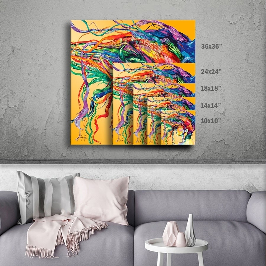 Artwall Linzi Lynn Windswept Gallery Wrapped Canvas Overstock 8611743