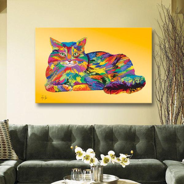 Art Wall Linzi Lynn 'Giles' Gallery-Wrapped Canvas