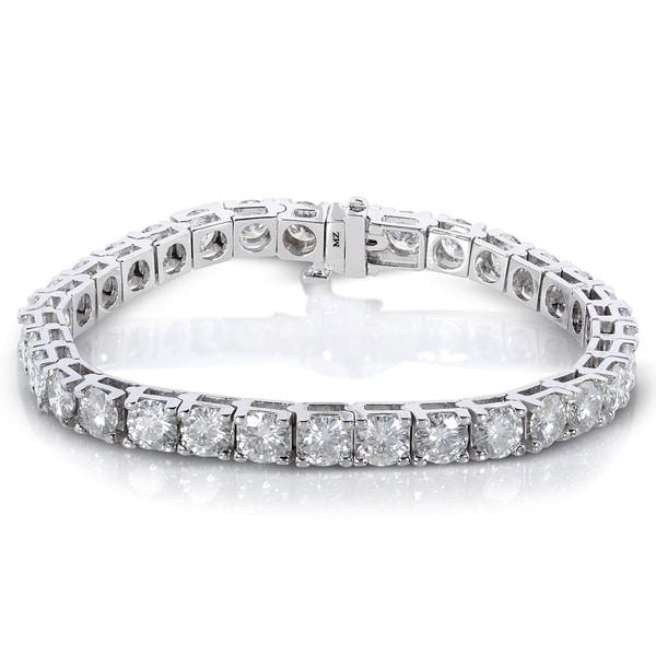 Tennis Bracelet - Genuine Diamond 1.00ct - Sterling Silver WJjqSWv