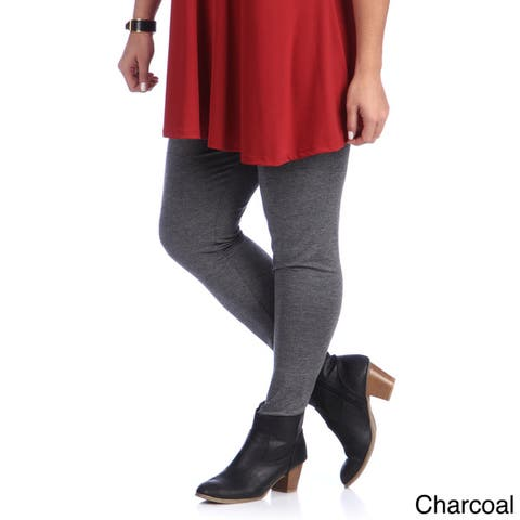 24/7 Comfort Apparel Plus Size Women's Leggings