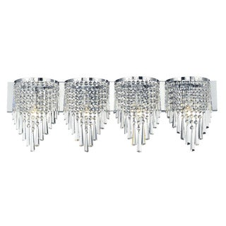 Z-Lite 4-light Crystal Vanity Light
