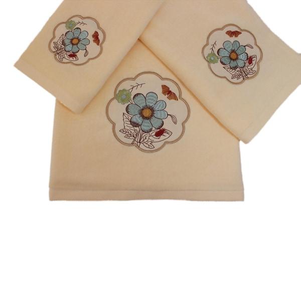 Sherry Kline Elindale Decorative Towel Set of 3
