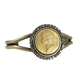 French Coin Marianne Bracelet