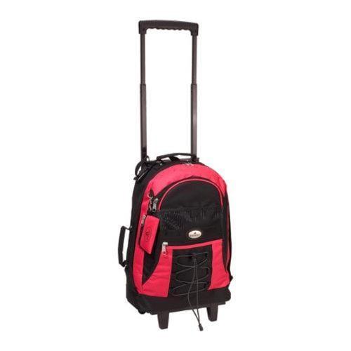 Everest Wheeled Backpack 7045 Hot Pink