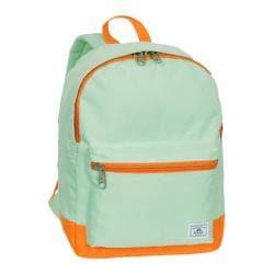 Everest Two-Tone Classic Backpack Jade/Orange - Thumbnail 0