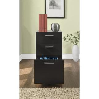 Porch & Den Wicker Park Concord Mobile Filing Cabinet