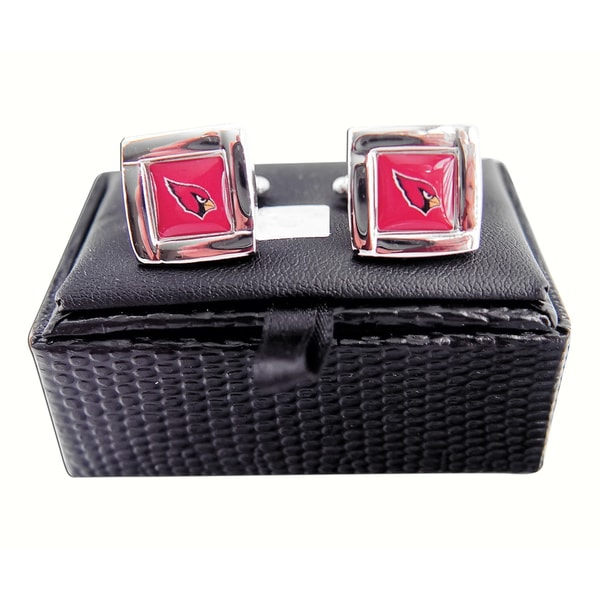 San Diego Chargers Club Seats: Shop NFL Square Cufflinks With Square Shape Logo Design