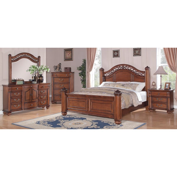Shop Picket House Furnishings Barrow Poster 5PC Bedroom Set - On ...