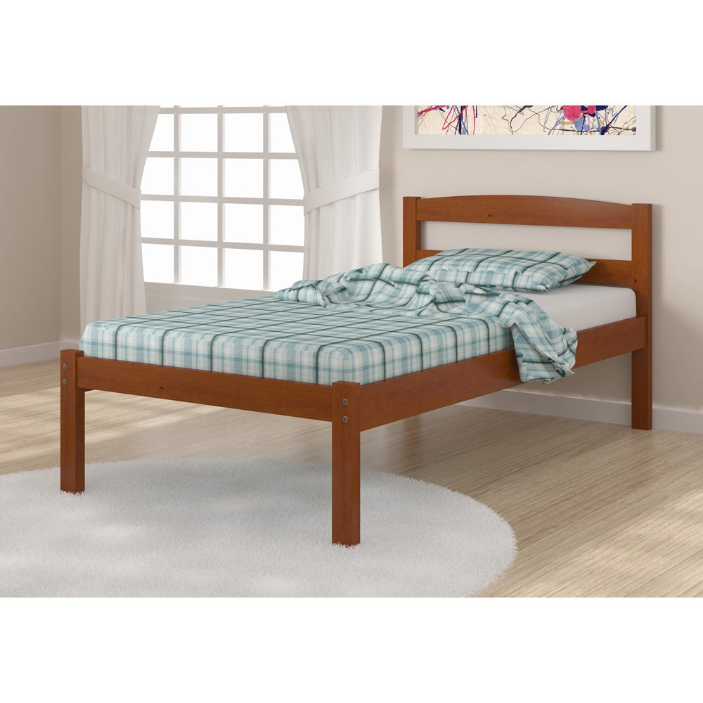 Donco Kid's Econo Twin-size Light Espresso Bed (Light Esp...