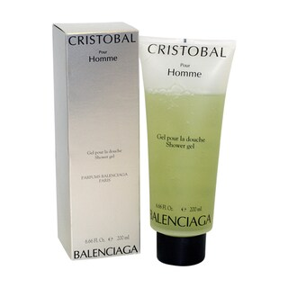 Balenciaga Cristobal Men's 6.66-ounce Shower Gel