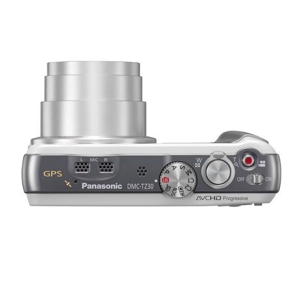 Panasonic Lumix DMC-ZS30 Wi-Fi 18.1MP White Digital Camera