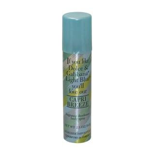 Parfums de Coeur Capri Breeze Women's 2.5-ounce Fragrance Deodorant Body Spray