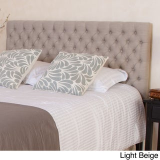 Jezebel Adjustable Full/ Queen Button Tufted Headboard by Christopher Knight Home (More options available)