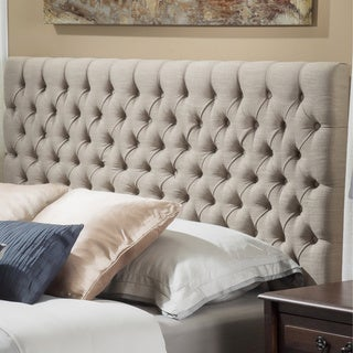 Jezebel Adjustable Full/ Queen Button Tufted Headboard by Christopher Knight Home (2 options available)