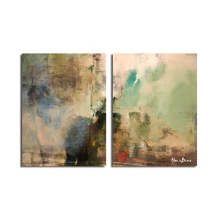Ready2HangArt 'Smash XVIIII' Oversized Canvas 2-piece Wall Art Set