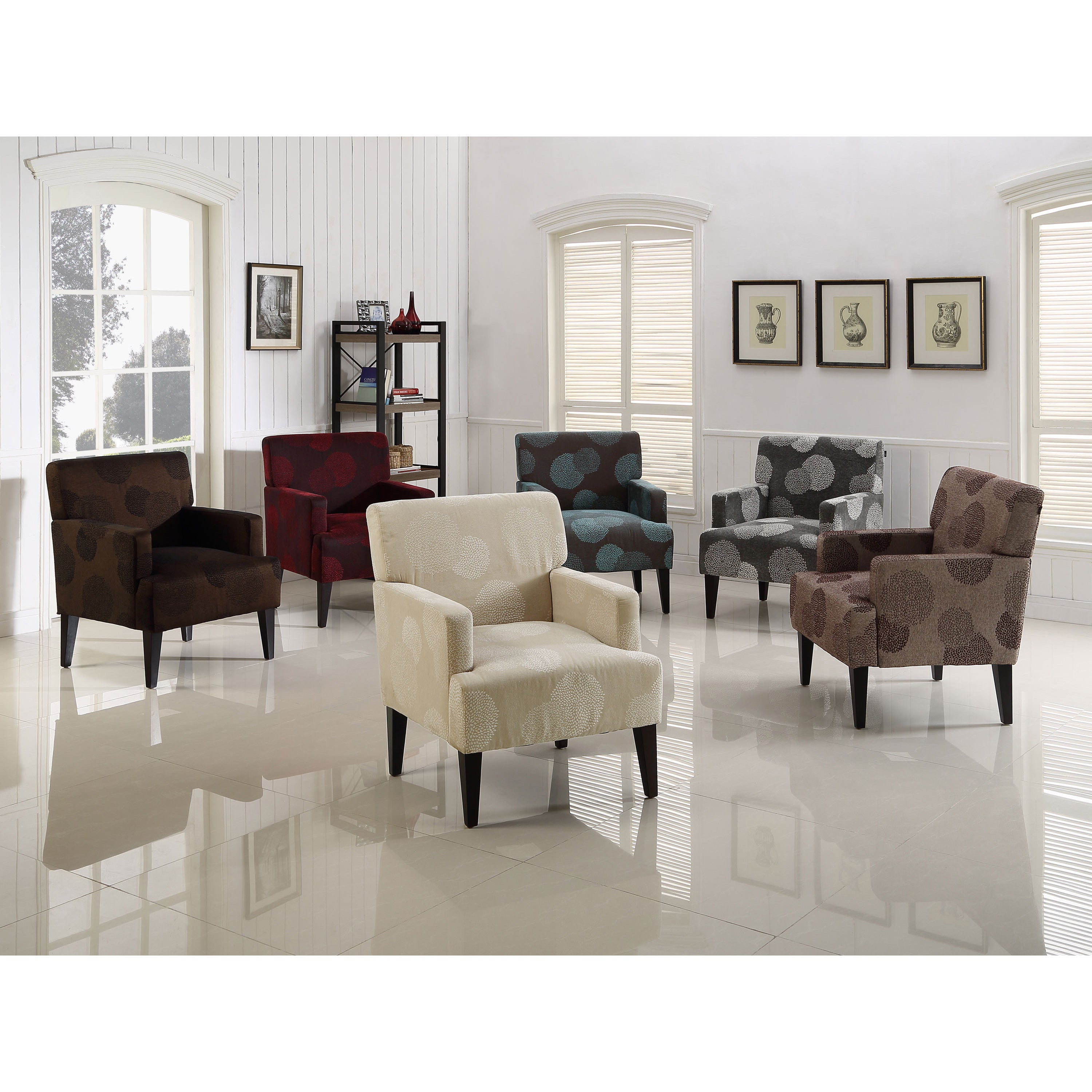Tux Sunflower Accent Chair Free Shipping On Orders Over 45 8614570