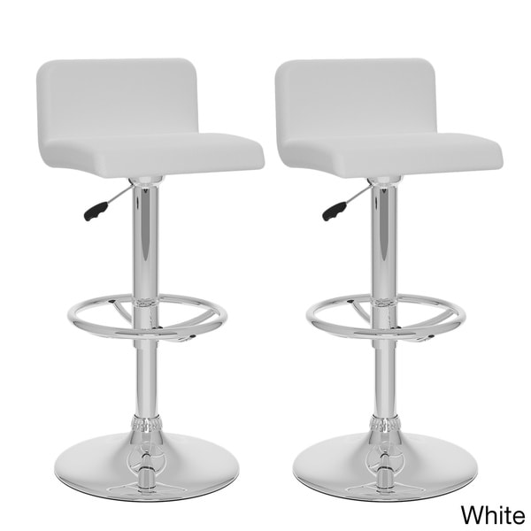 CorLiving Low Back Leatherette Adjustable Barstool Set of  : B 317 UPD Low Back Adj Bar Stool in White pair CorLiving B 3X7 UPD Low Back Adjustable Bar Stool Set of 2 598073e8 74c1 46e9 9cf8 881c9b65818c600 from www.overstock.com size 600 x 600 jpeg 16kB