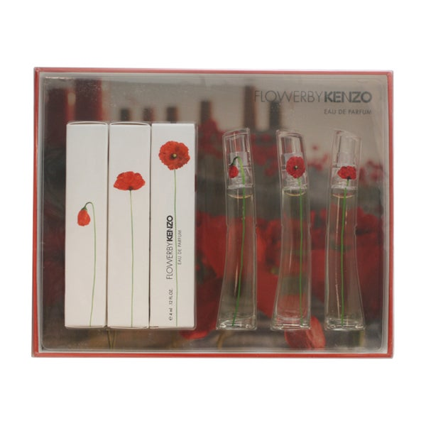 f6754995 Shop Kenzo Flower Women's 3-piece Gift Set - Free Shipping On Orders Over  $45 - Overstock - 8614713