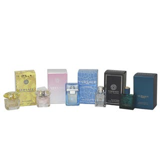 Gianni Versace Miniatures Collection Women's 5-piece Gift Set|https://ak1.ostkcdn.com/images/products/8614729/P15881800.jpg?impolicy=medium