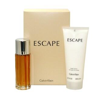 Calvin Klein Escape Women's 2-piece Gift Set