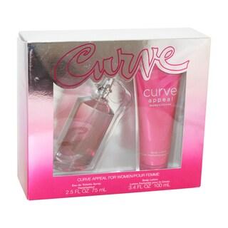 Liz Claiborne Curve Appeal Women's 2-piece Gift Set
