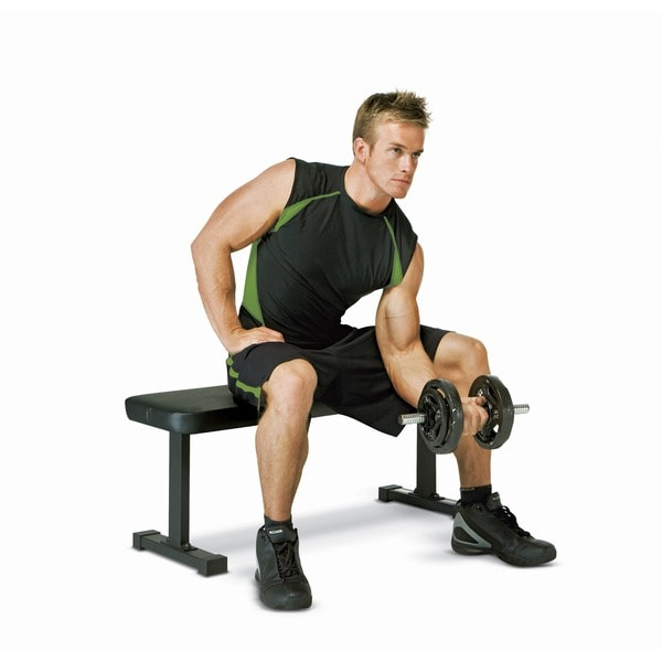 Marcy Utility Flat Workout Bench Free Shipping Today 15881935