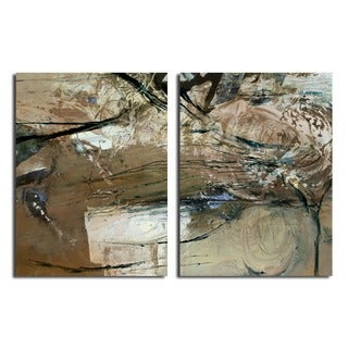 Ready2HangArt 'Smash XVIII' Oversized Canvas 2-piece Wall Art Set