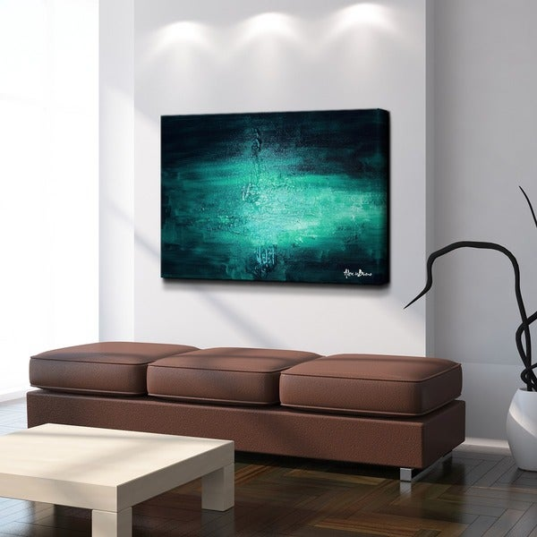 Ready2HangArt 'Smash VIIII' Oversized Canvas Wall Art