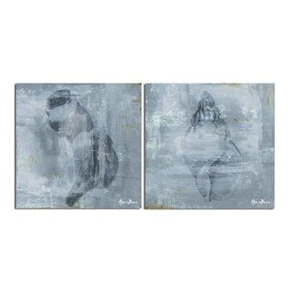 Ready2HangArt 'Modern Shells' 2-piece Canvas Wall Art