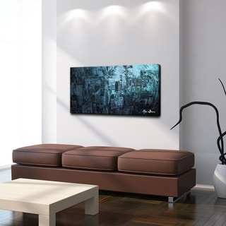 Ready2HangArt 'Smash VIII' Oversized Canvas Wall Art