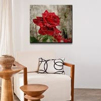 Ready2HangArt 'Roses are Red III' Canvas Wall Art