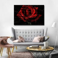 Ready2HangArt 'Roses are Red IV' Canvas Wall Art