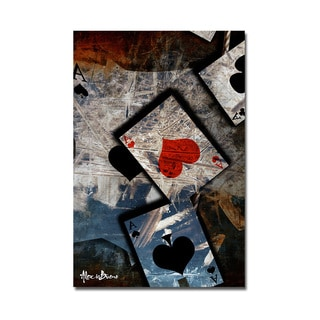 Ready2HangArt 'Poker I' Canvas Wall Art