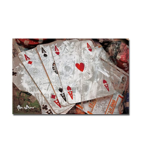 Ready2HangArt 'Poker II' Canvas Wall Art