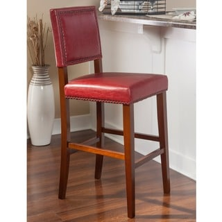 red bar stools. Laurel Creek Winnie Non-Swivel Bar Stool Red Stools