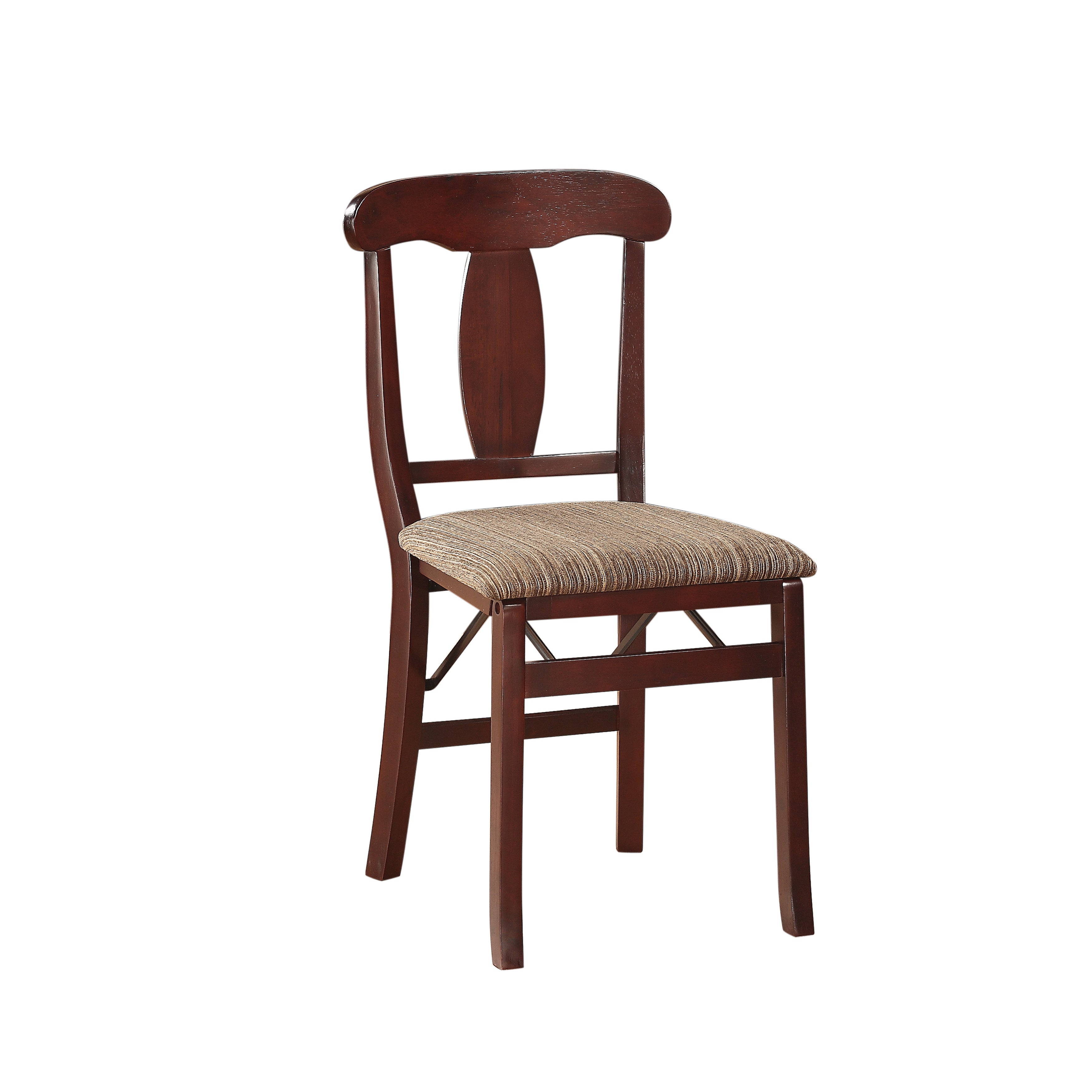 Excellent Linon Triena Emily Folding Chairs Squirreltailoven Fun Painted Chair Ideas Images Squirreltailovenorg