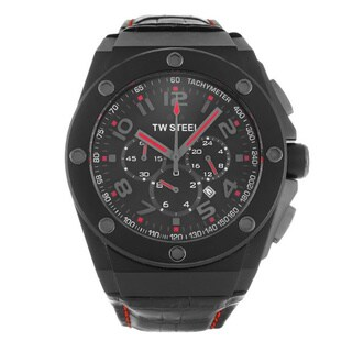 TW Steel Men's CEO Tech Chronograph Black Dial Watch
